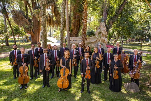 Concertos inéditos são transmitidos ao vivo da Capela Santa Maria  - Na imagem, Orquestra de Câmara da Cidade de Curitiba. Foto: Divulgação